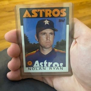 1986 Topps Nolan Ryan #100 Baseball Card